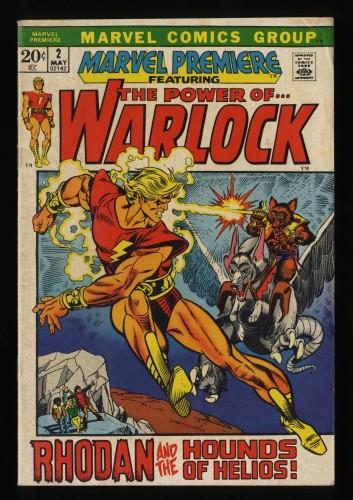 Marvel Premiere #2 VG 4.0 Comics