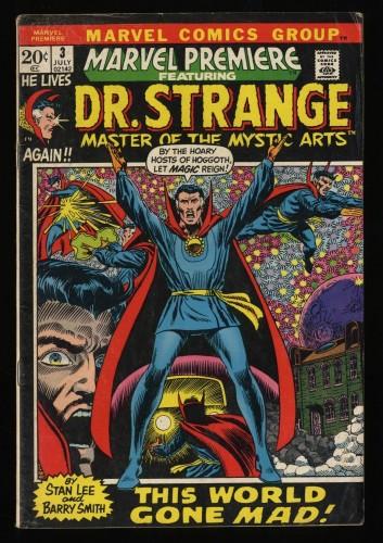Marvel Premiere #3 GD 2.0 Comics Doctor Strange!