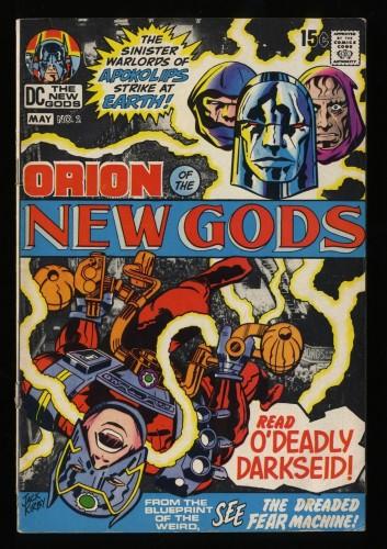 New Gods #2 GD/VG 3.0 2nd Full Darkseid Appearance!