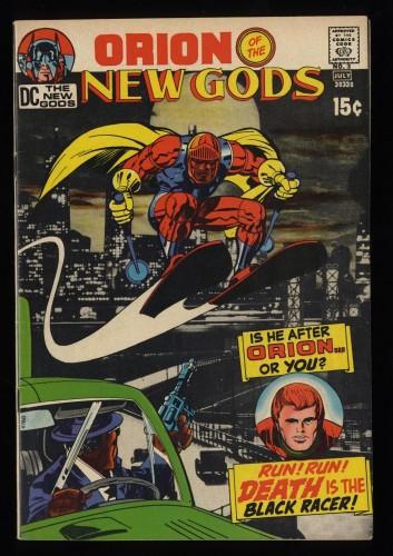New Gods #3 FN/VF 7.0