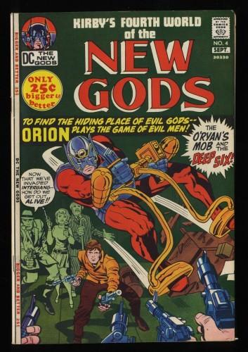 New Gods #4 VF 8.0