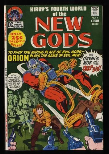 New Gods #4 FN 6.0