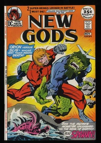 New Gods #5 VF+ 8.5
