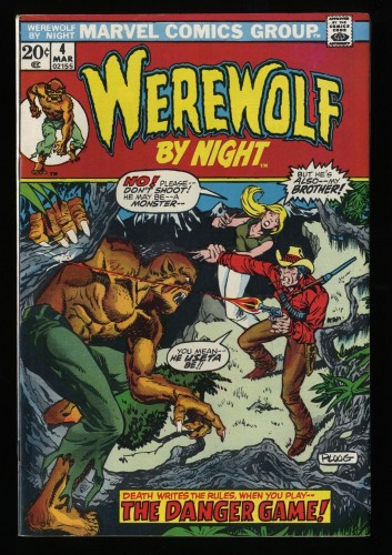 Werewolf By Night #4 VF 8.0