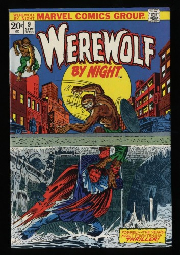 Werewolf By Night #9 FN/VF 7.0