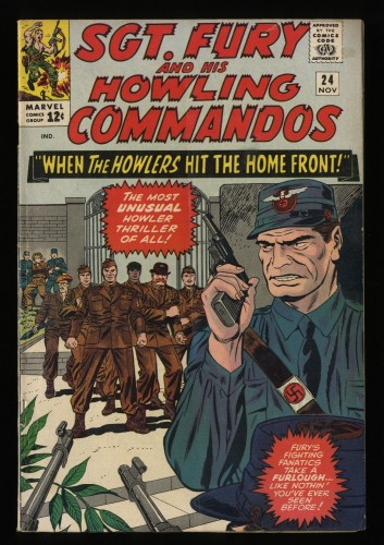 Sgt. Fury and His Howling Commandos #24 VG+ 4.5 Marvel Comics