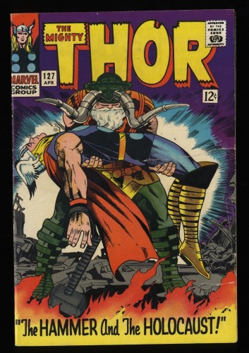 Thor #127 VG 4.0 Marvel Comics