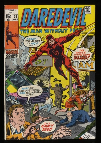 Daredevil #74 VF+ 8.5 Marvel Comics