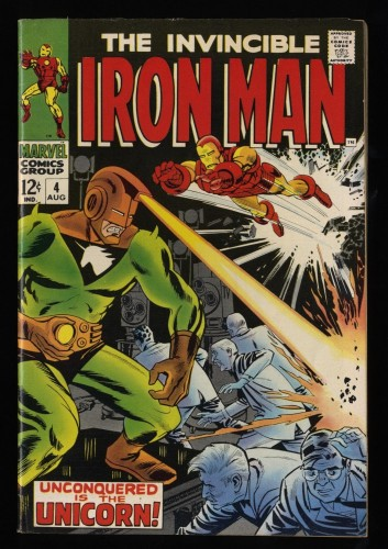 Iron Man #4 FN- 5.5 Marvel Comics
