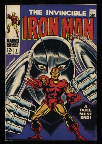 Iron Man #8 FN- 5.5 Marvel Comics