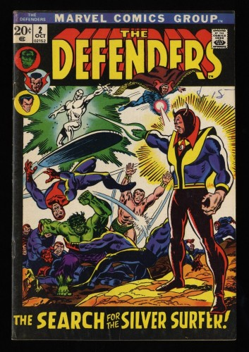 Defenders #2 FN 6.0 Marvel Comics