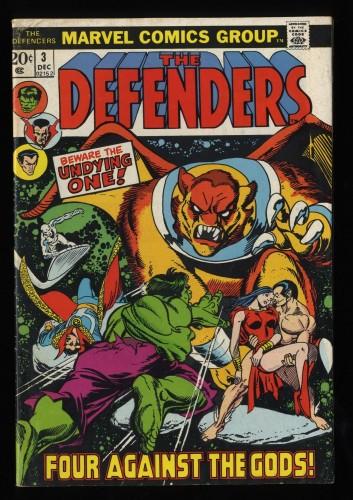 Defenders #3 FN 6.0 Marvel Comics
