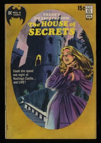 House Of Secrets #89 FN+ 6.5 DC Comics