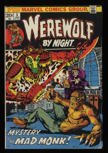 Werewolf By Night #3 VG- 3.5