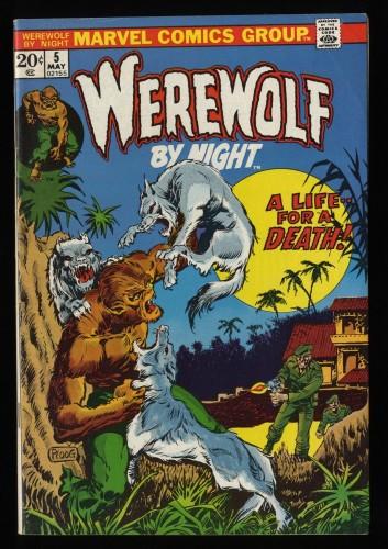 Werewolf By Night #5 FN 6.0
