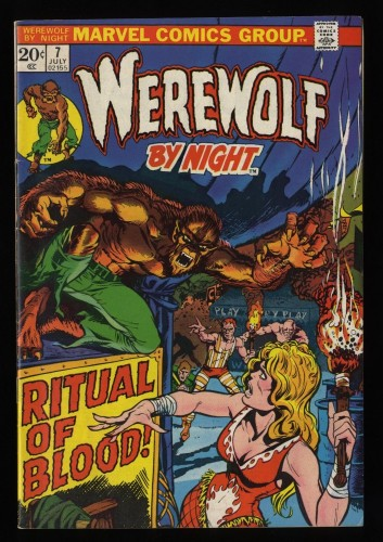 Werewolf By Night #7 VF 8.0