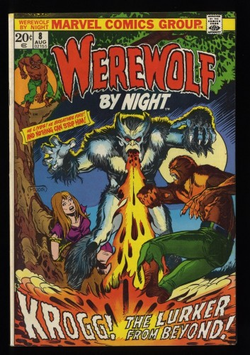 Werewolf By Night #8 FN 6.0