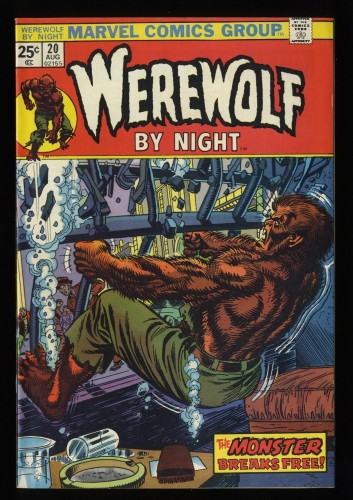 Werewolf By Night #20 VF+ 8.5