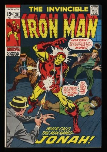 Iron Man #38 VF/NM 9.0 Marvel Comics
