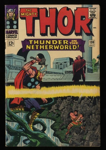 Thor #130 VF- 7.5 Marvel Comics