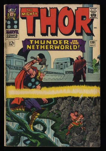 Thor #130 GD/VG 3.0 Marvel Comics