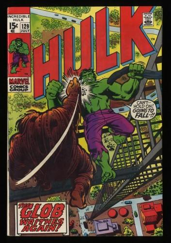 Incredible Hulk (1968) #129 VF- 7.5 Marvel Comics
