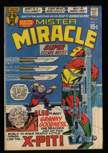 Mister Miracle #2 GD 2.0 DC Comics