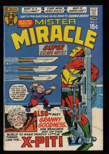 Mister Miracle #2 FN/VF 7.0 DC Comics 1st Granny Goodness!