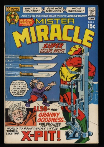 Mister Miracle #2 FN 6.0 DC Comics
