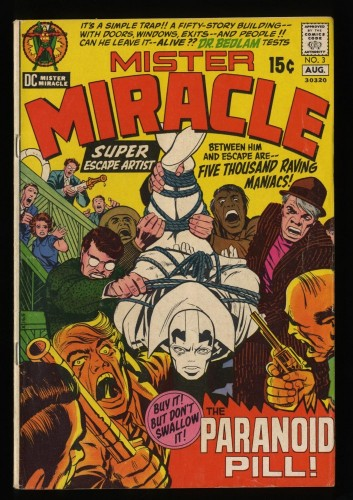Mister Miracle #3 VG 4.0 DC Comics