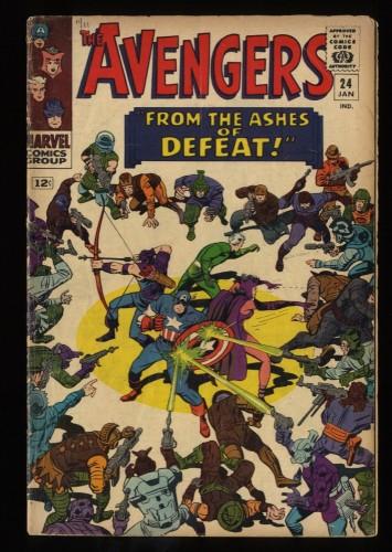 Avengers #24 FN 6.0 Marvel Comics Thor Captain America