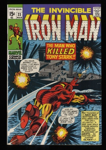 Iron Man #23 FN/VF 7.0 Marvel Comics