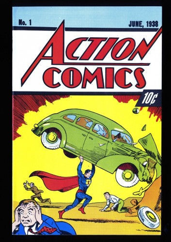 Action Comics #1 VF/NM 9.0 DC Superman REPRINT 1988!