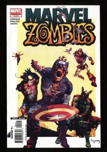 Marvel Zombies #2 NM 9.4
