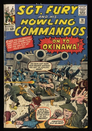 Sgt. Fury and His Howling Commandos #10 FA/GD 1.5 Marvel Comics