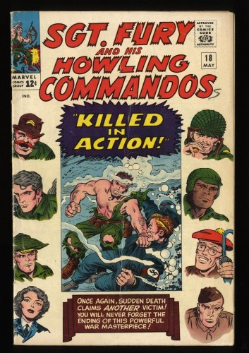 Sgt. Fury and His Howling Commandos #18 GD/VG 3.0