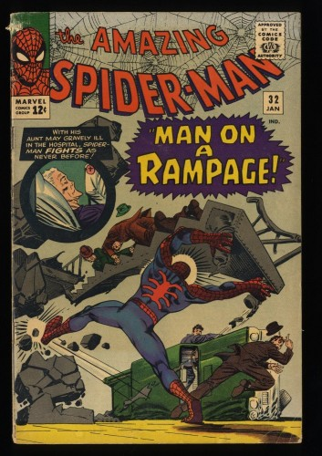 Amazing Spider-Man #32 VG- 3.5 Marvel Comics Spiderman