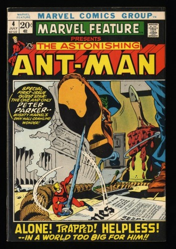 Marvel Feature #4 FN 6.0 Ant Man! Comics