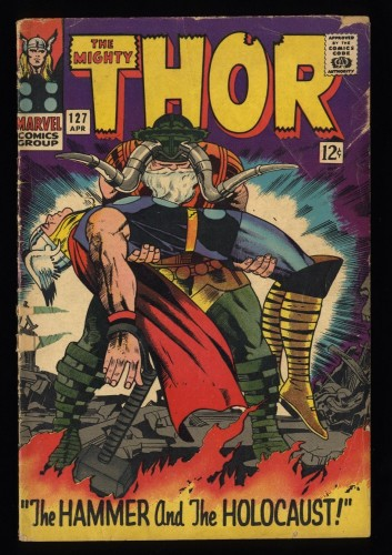 Thor #127 GD 2.0 Marvel Comics
