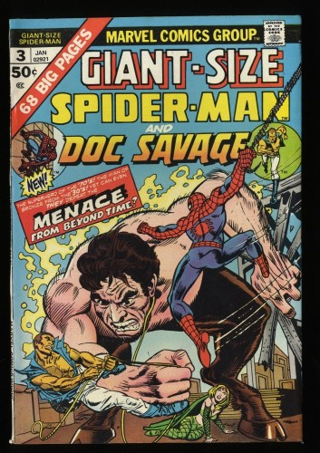Giant-Size Spider-Man #3 FN+ 6.5