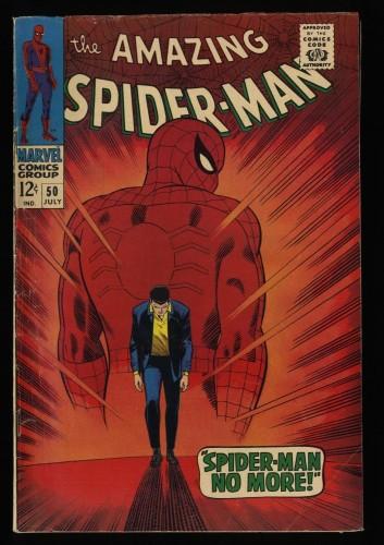 Amazing Spider-Man #50 VG 4.0 Marvel Comics Spiderman