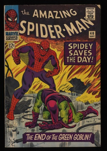 Amazing Spider-Man #40 VG- 3.5 Marvel Comics Spiderman