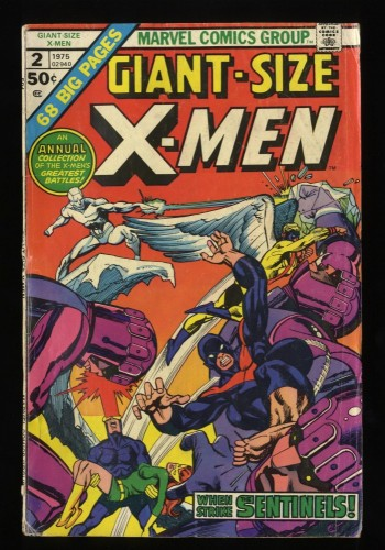 Giant-Size X-Men #2 GD/VG 3.0