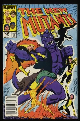 New Mutants #14 VF/NM 9.0 1st Magyk!