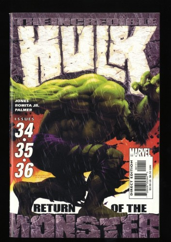 Incredible Hulk (1999) #34 NM/M 9.8