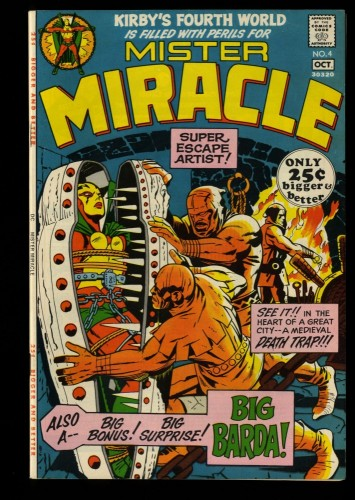 Mister Miracle #4 VF/NM 9.0 DC Comics