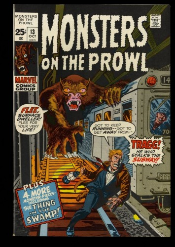 Monsters on the Prowl #13 NM- 9.2
