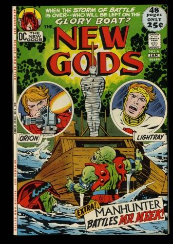 New Gods #6 VF+ 8.5