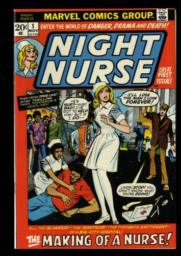 Night Nurse #1 VF+ 8.5