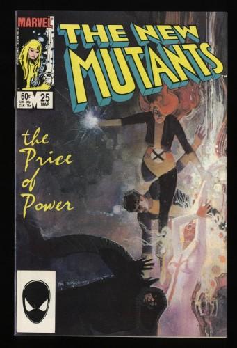 New Mutants #25 VF 8.0